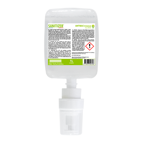 Mousse nettoyante antibac 1L