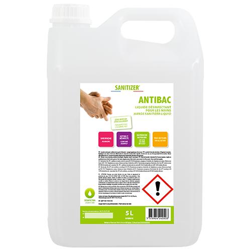 Bidon liquide antibactérien 5L